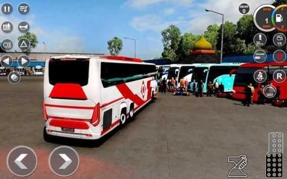 愤怒的巴士停车