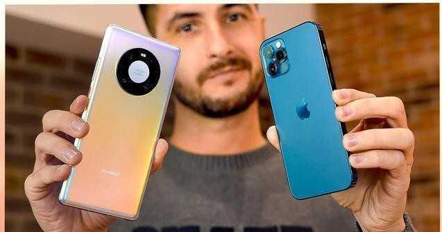 iphone12pro与华为mate40Pro拍照对比-拍照评测