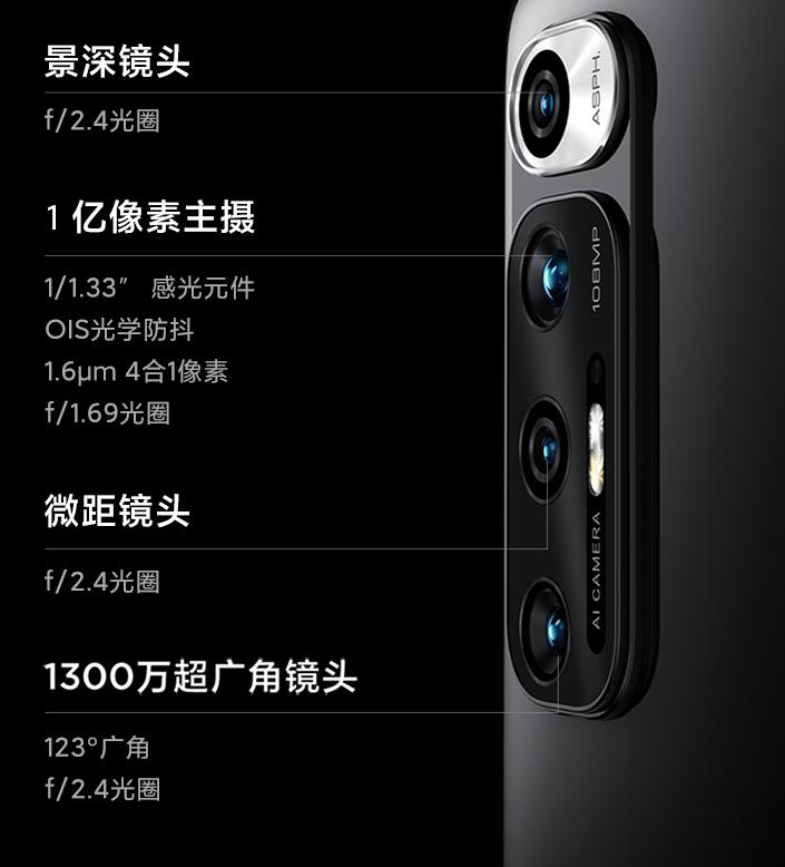 小米10s最上面的摄像头怎么用-每个镜头的作用是什么