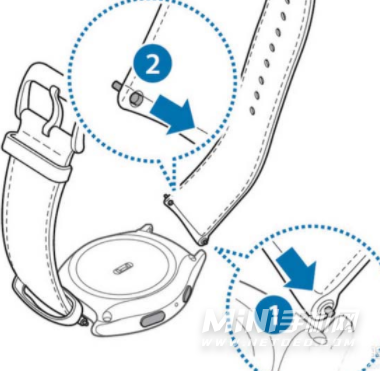 三星watch4怎么更换表带-换表带方法